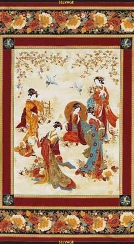Y913 Kyoto Blossoms - Panel