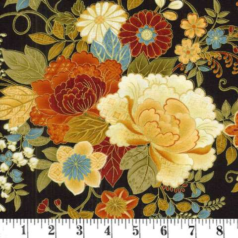 Y914 Kyoto Blossoms - Floral