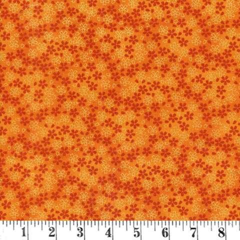 Y915 Kyoto Blossoms - Orange Flower