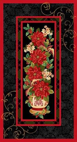 Y919 Christmas Splendor - Panel
