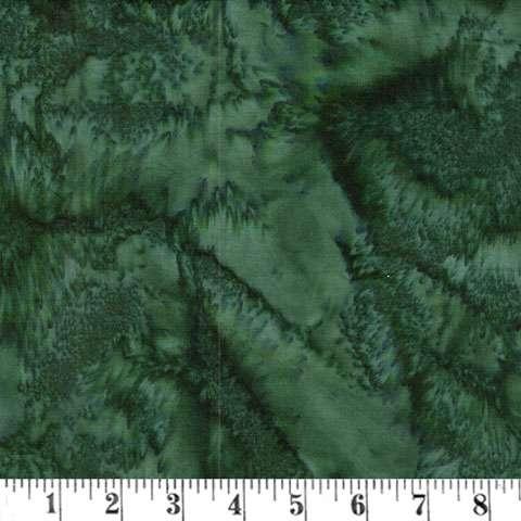 Z061 Batik - Christmas Green