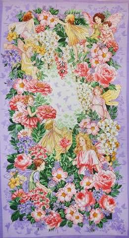 Z245 Fairy Dream - Blossom Flowers - Panel