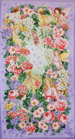 Z245 Fairy Dream - Blossom Flowers - Panel