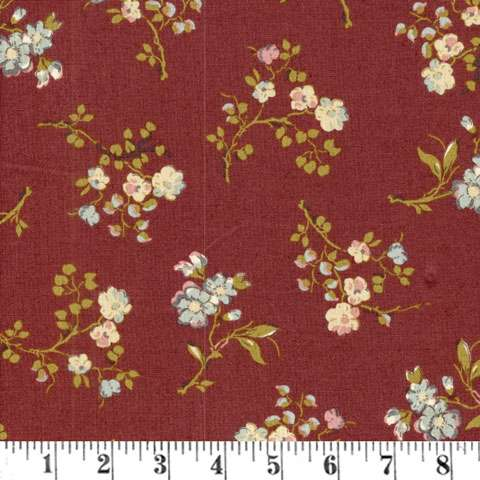 Z285 Country French - Red Sprigs