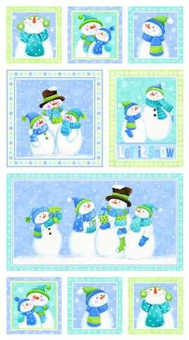 Z294 Let It Snow - Panel