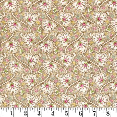 Z395 Graceful Moments - Taupe Paisley Vine