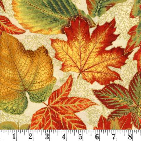 Z571 Shades Of The Season Autumn Leaves Adopt A