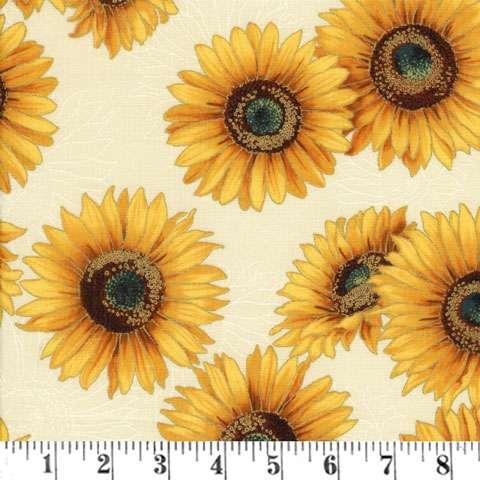 Z572 Shades of the Season - Sunflower