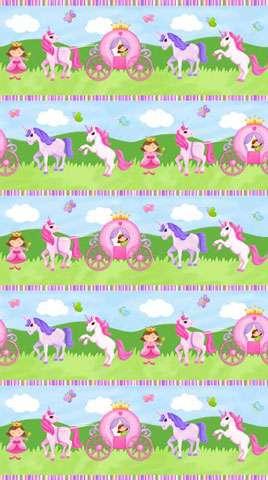 Z645 Little Princess - Border