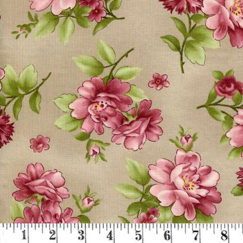 Z656 Graceful Moments - Full Bloom - Taupe