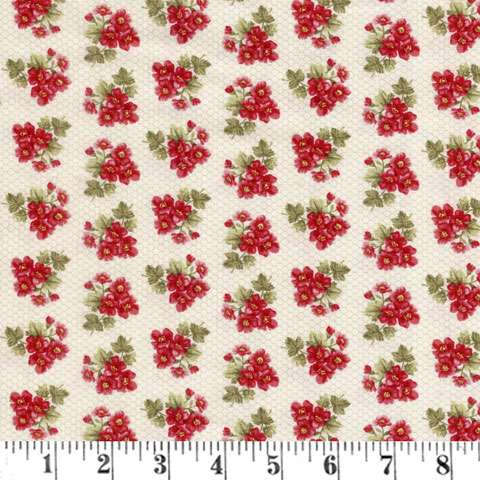 Z660 Bandana Florals - Red Floral