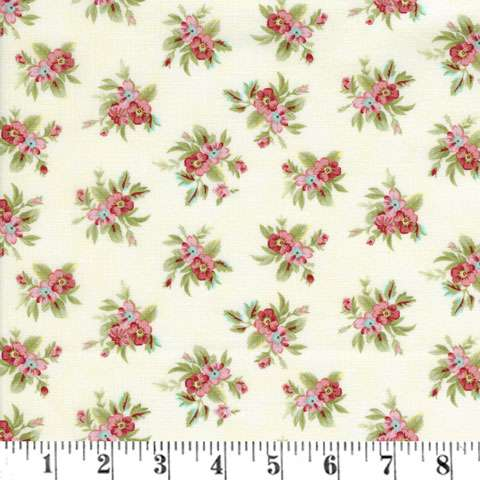 Z755 Tranquil Garden - Small Floral