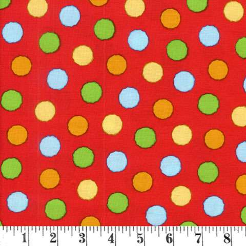 Z759 ABC - 123 - Red Dots