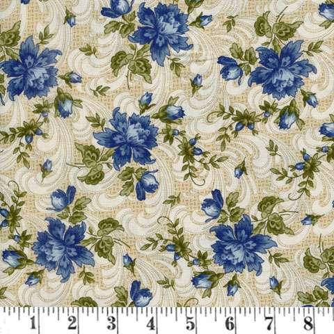 Z796 Regents Park - Blue Floral