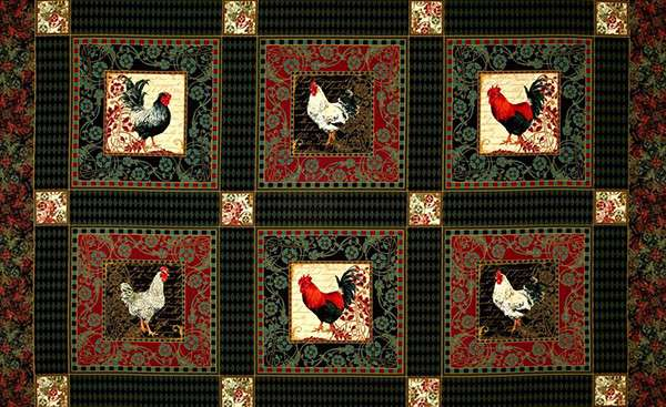 Z806 French Rooster - Panel