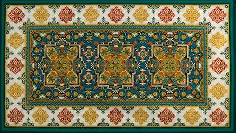 Z859 Trieste - Jewel Damask Panel