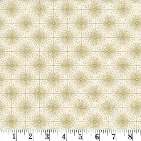 Z937 Gentle Breeze - Cream Tufted Geo