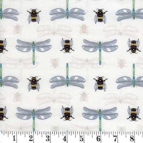 Z946 The Botanist - Dragonflys & Bumblebees